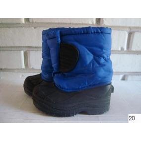 Botines De Niño Color Azul