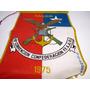 Banderin Confederacion Fuerzas Armadas Talca 1975