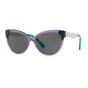 8df5ed9a0 Oculos Feminino - Óculos De Sol Versace Sem lente polarizada no Mercado  Livre Brasil