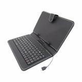Necnon Funda Teclado Tablet 10 Retrato Micro Usb Ck1001 Negr
