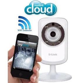Câmera Ip Wireless Cloud D-link Dcs-932l Áudio Visão Noturna