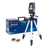Nível Laser 3 Linhas Vermelhas 15m Bosch Nivelox Gll3x