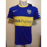 Camiseta Boca 2013 2014 Roman Riquelme 10 M Tela Juego Nueva