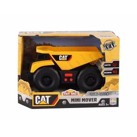 Cat Vehículos Con Luces Y Sonidos Mini Mover Giro Didáctico