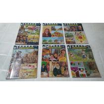 6 Revista Tareas E Ilustraciones Maestro En Casa 1985 Usado