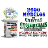 2000 Modelos De Cartas Comerciais , Pessoais E Contratos