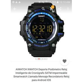 Aiwatch Xwatch Deporte Podómetro Reloj Inteligente 5atm,50m.