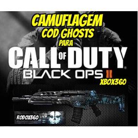 Camuflagem Cod Ghosts Para Black Ops 2 ( Bo2 ) Xbox 360