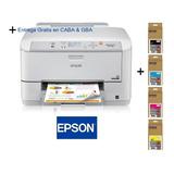 Impresora Epson Workforce Pro Wf-5190 + Kit Cartuchos