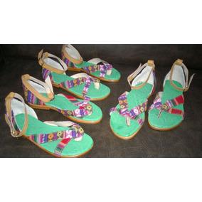 Sandalias De Aguayo Del 35 Al 39 - Barro Cocido