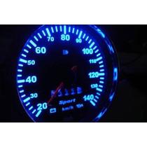 Fusca 140km/h Acrilico Translucido P/ Painel + Led + Tinta