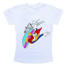 Camiseta Infantil Pica Pau Hw1655
