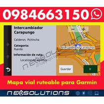 Mapas Gps Ecuador 2017 Garmin Nuvi Android C.c. Quitus L 495