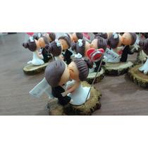Souvenirs Para Casamiento Novios, En Porcelana Fría
