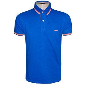 104b7a7464 Camisa Polo Col Cci Azul Royal Desenhos ( Várias Cores )