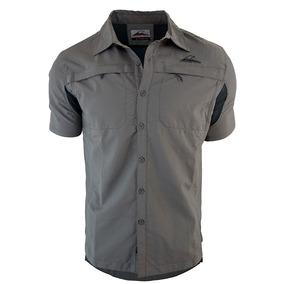 Camisa Hombre Montagne Trevor Secado Rapido Outdoor Trekking