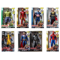 Vingadores Boneco Marvel The Avengers 30 Cm Luz E Som
