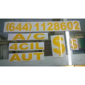 Calcomanias Para Venta De Auto Stickers Signos De Pesos