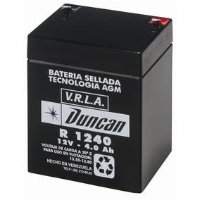 Batería Duncan R-1240 12v 4ah , Para Ups Cerco Eléctrico