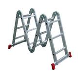Escada Multifunção 8 Em 1 Articulada 12 Degrau Worker