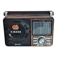 Rádio Antigo Retro Vintage Fm Am  Usb Sd  Bateria Lanterna
