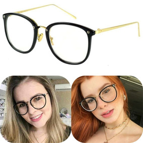 Armação De Oculos Grau Geek Tartaruga Oncinha Feminino