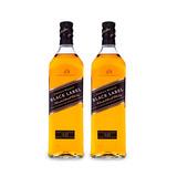 Whisky Black Label 2x 1000ml Johnnie Walker Oficial