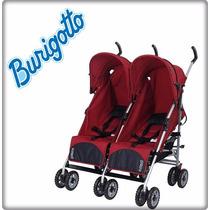 Carrinho De Bebê Para Gemeos Duetto Atimo Burigotto