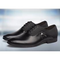 Zapatos Oxford Piel Cuero Genuino Elegante Vestir Suaves
