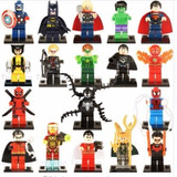 Marvel Set 18 Figuras Lego Compatibles
