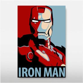 Poster Iron Man Homem Ferro V7l Filme Vingador Decor Casa