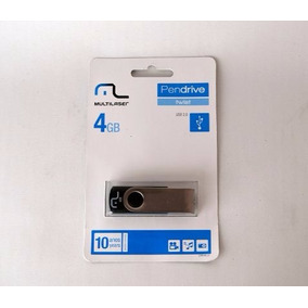 1 Pen Drives Multilaser 4gb Original