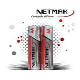 Pilas Recargables Netmak Nm-aa270 Aa Pack X2 2700 Mah