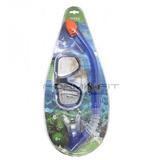 Careta Y Snorkel Con Valvula Para Natacion Intex