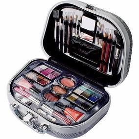 Maleta De Maquiagem Completa Fenzza Glamourosa Prata