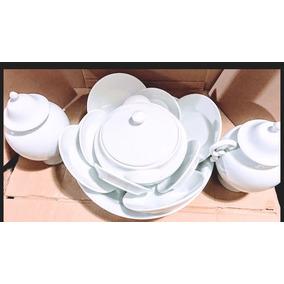 Kit Iba Com 12 Peças Em Porcelana Legítima