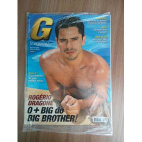 Revista G Magazine Rogerio Dragone Edição 80 Ano 6 Maio 2004