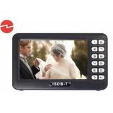 Mini Tv Digital Portatil 4.3 Isdb-t Video Microsd Radio Fm