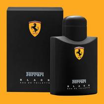Perfume Ferrari Black 125ml Original Lacrado + Frete Gratis