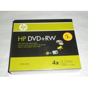 Dvd-rw Hp 120 Min Video 4.7 Gb Data 4x (5 Unidades)