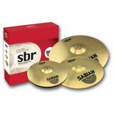 Sabian Sbr Performan Set Hi-hat14 Crahs 16 Y 20 Ride