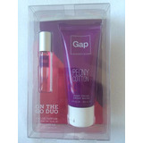 Gap Perfume Femino 8ml E Creme Para Maos 60ml Peonny Cotton