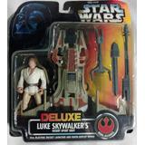 Luke Skywalker + Desert Sport Skiff - Deluxe