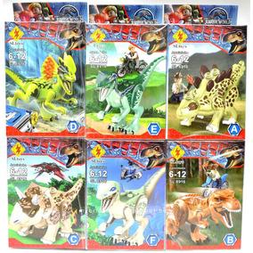 Jurassic World Mini Figuras Dinosaurio Set X6 Ud Bloques