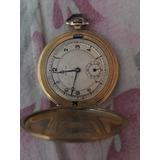 Reloj Antiguo,cronómetro Enchapado En Oro