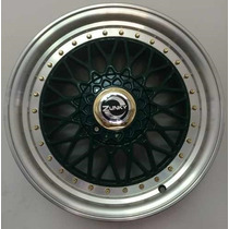 Jogo Roda New Bbs Aro 17 Golf Civic Jetta Corolla Gol