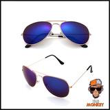 Oculos De Sol Aviator - Famosos Frete Gratuito P/ Todo Pais