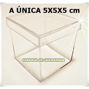 Caixinha De Acrilíco 5x5 600 Unids R$ 270,00