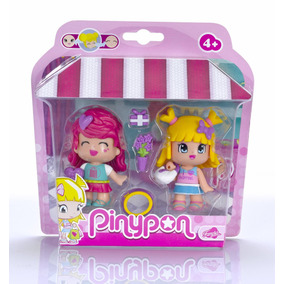 Set De Muñecas Amigos De Shopping Pinypon R3159