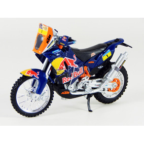 Ktm 450 Rally Dakar 1/18 Red Bull Bburago 51071/19073